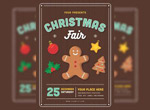 圣诞节饼干海报