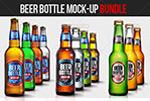 啤酒瓶样机模板