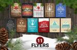 11款圣诞节海报