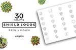 30款盾牌LOGO
