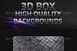 3D立方体背景