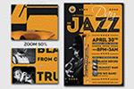 爵士乐宣传海报