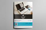 财务杂志ID模板