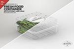 食品容器样机