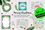 矢量圣诞新年元素