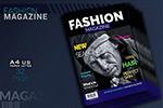 时尚杂志ID模板