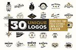 30个独特logo