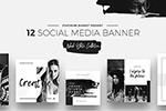 社交媒体banner