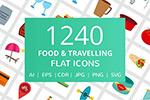 食物旅行图标