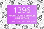 职业和服务图标