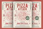 清新披萨海报