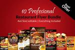10款美食海报
