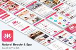 美容行业APP模板