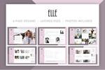 时尚博客网站模板