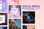 社交媒体广告图