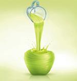 苹果果汁创意