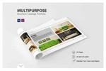 横版企业画册模板