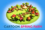 卡通农场3D模型