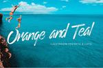 橙青色调LR样式