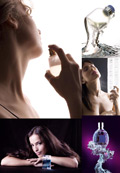 香水广告素材