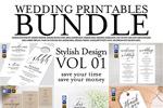 婚礼海报印刷品