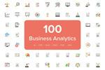 商业分析图标