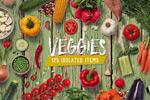 高清蔬菜水果