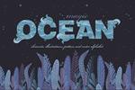 手绘海洋主题元素