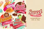 糖果类符号和图标