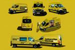 黄色货车样机
