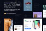 电商网页UI模板