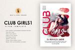 俱乐部女孩海报