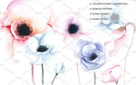 淡雅手绘花卉背景