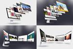 iMac作品展示样机