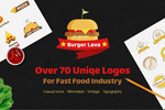披萨店LOGO图形