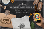 啤酒Logo设计套件