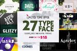 27款独特英文字体