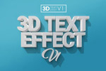 3D立体字PS样式