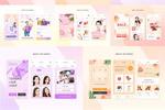 化妆品手机网站
