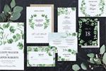 清新绿植婚礼套件