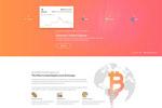 加密货币网站模板