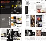 摄影艺术画册模板