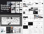 矢量商业产品画册