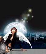 带翅膀的女人