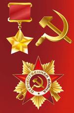 金色勋章奖章