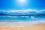 漂亮的海边风光