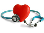 听诊器与心形
