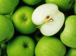 青苹果背景