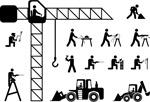 建筑工人火柴人