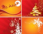 圣诞节主题插图